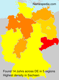Surname Juhrs in Germany