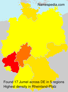 Familiennamen Jumel - Germany