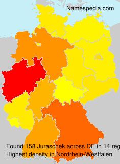 Familiennamen Juraschek - Germany