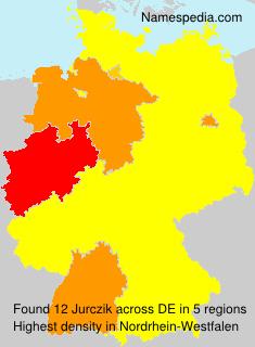 Surname Jurczik in Germany