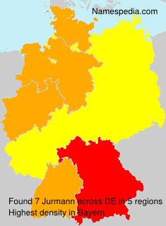 Surname Jurmann in Germany