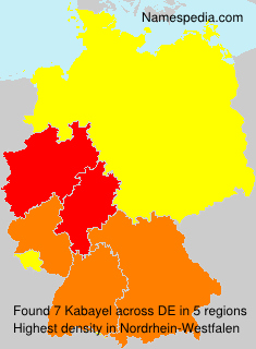 Surname Kabayel in Germany