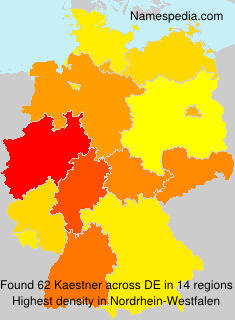 Surname Kaestner in Germany