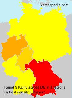 Surname Kalny in Germany