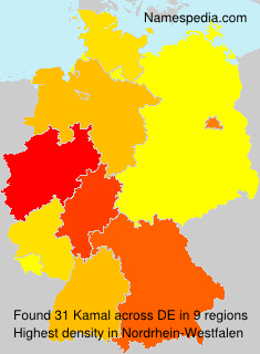 Surname Kamal in Germany