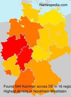 Familiennamen Kammer - Germany