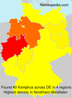 Surname Kamphus in Germany