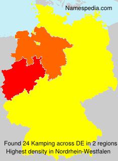 Familiennamen Kamping - Germany