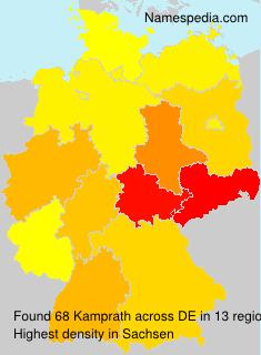 Familiennamen Kamprath - Germany