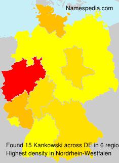 Surname Kankowski in Germany