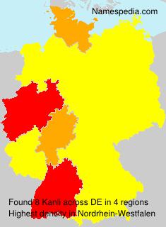 Surname Kanli in Germany