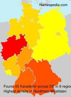 Surname Karademir in Germany