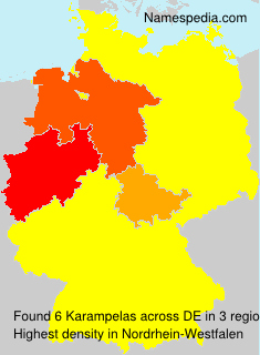 Surname Karampelas in Germany