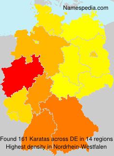 Surname Karatas in Germany