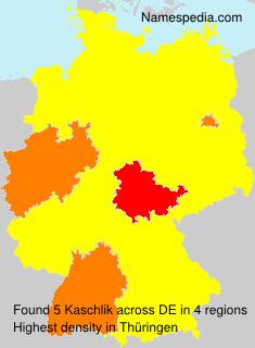 Surname Kaschlik in Germany