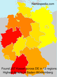 Surname Kassel in Germany