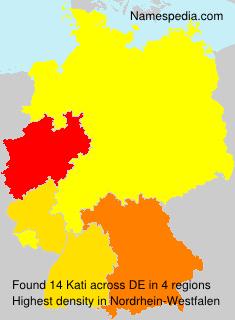 Familiennamen Kati - Germany