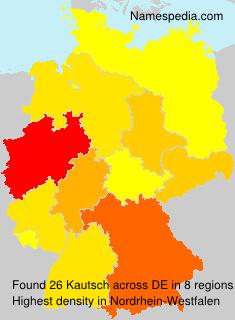 Familiennamen Kautsch - Germany