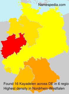 Surname Kayadelen in Germany