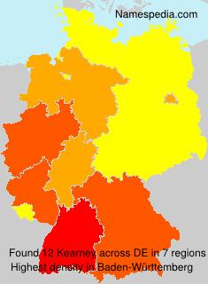 Surname Kearney in Germany