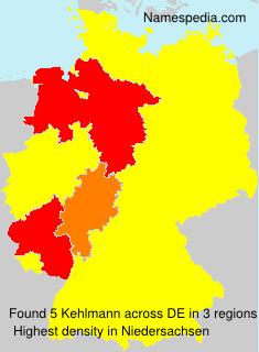 Surname Kehlmann in Germany
