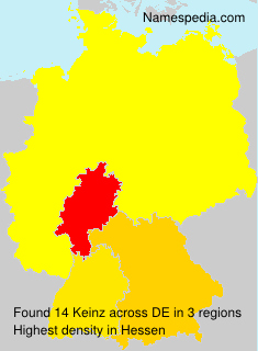 Surname Keinz in Germany