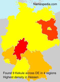 Surname Kekule in Germany