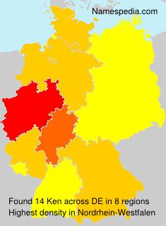 Surname Ken in Germany