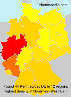 Familiennamen Kenn - Germany