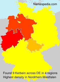 Familiennamen Kerbein - Germany