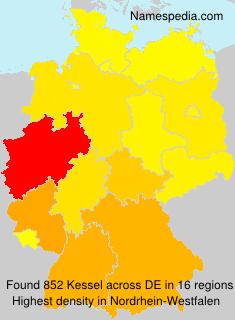 Surname Kessel in Germany