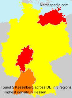Surname Kesselberg in Germany
