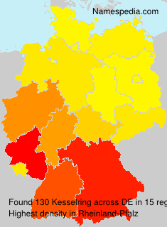 Surname Kesselring in Germany