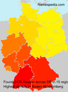 Surname Kessler in Germany