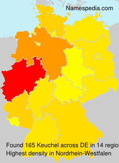 Familiennamen Keuchel - Germany