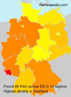 Surname Kien in Germany