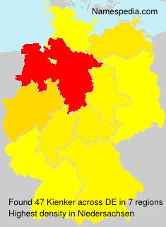 Surname Kienker in Germany