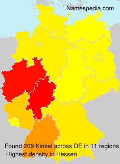 Familiennamen Kinkel - Germany
