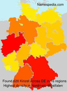 Surname Kinzel in Germany