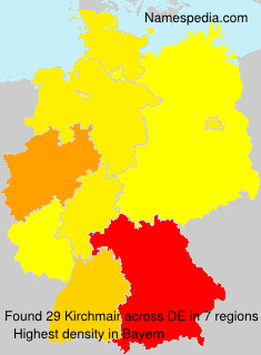 Surname Kirchmair in Germany