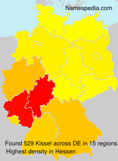 Surname Kissel in Germany