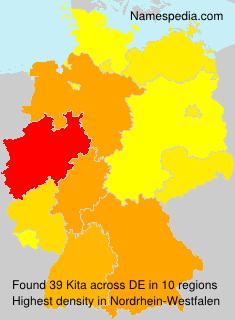 Surname Kita in Germany