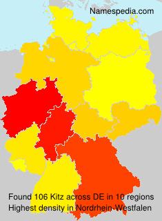 Familiennamen Kitz - Germany