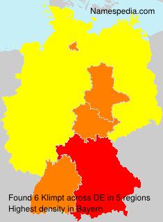 Surname Klimpt in Germany