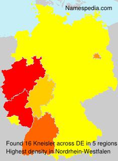 Surname Kneisler in Germany