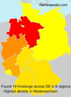 Surname Knelange in Germany