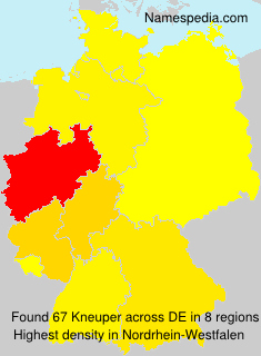 Surname Kneuper in Germany