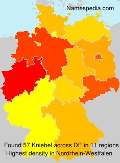 Surname Kniebel in Germany