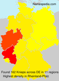 Surname Knieps in Germany