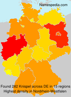 Familiennamen Knispel - Germany